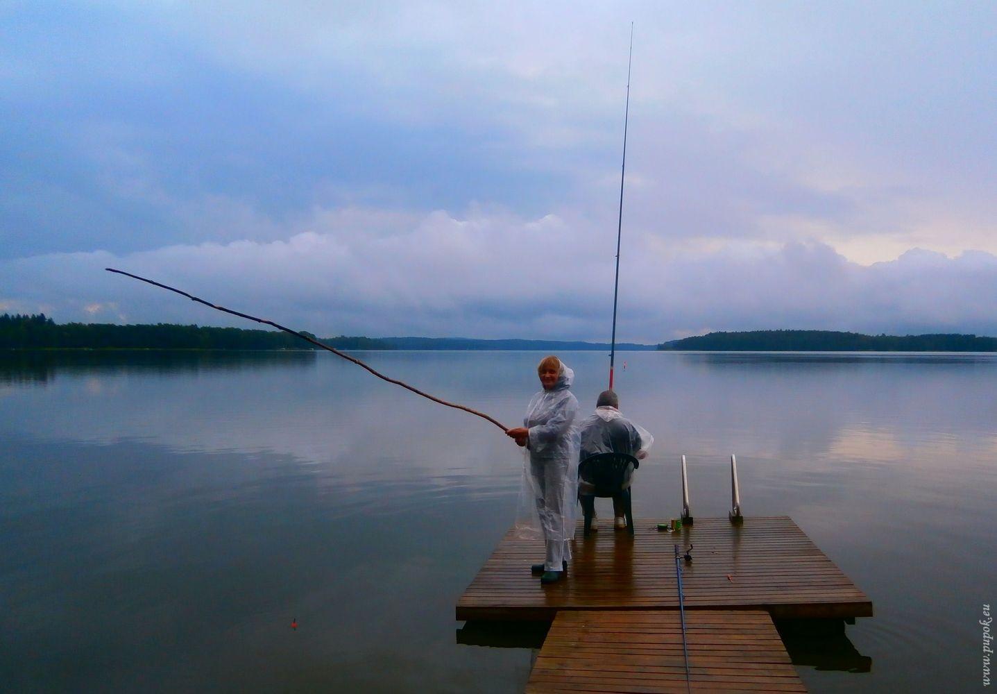 рыбаки петергофа